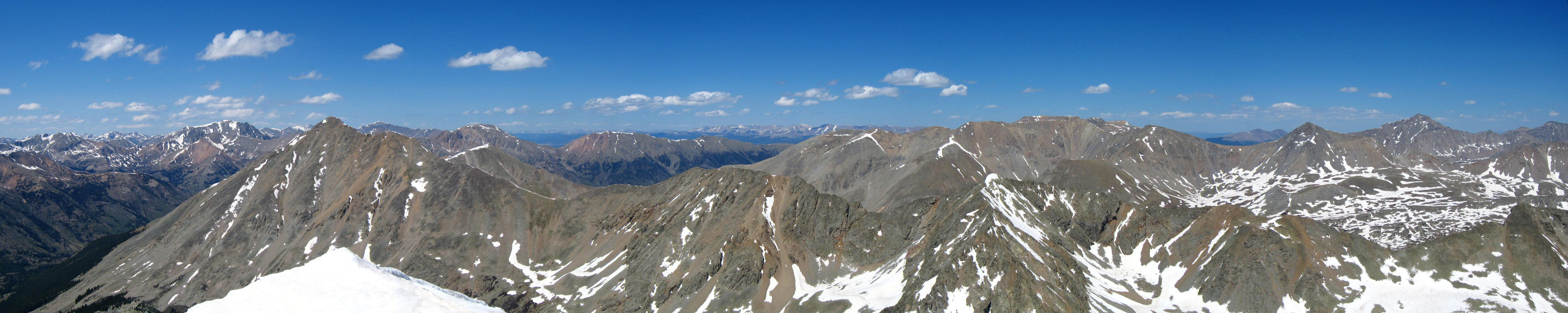 North Apostle Summit Panorama