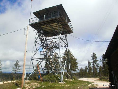 Summit fire tower