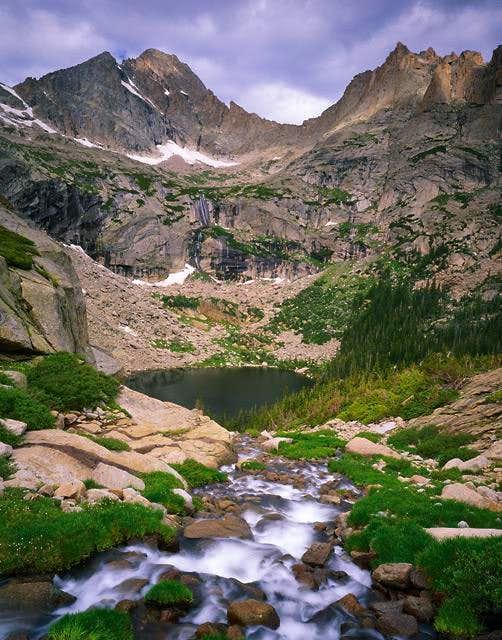 McHenrys Peak and Arrowhead...