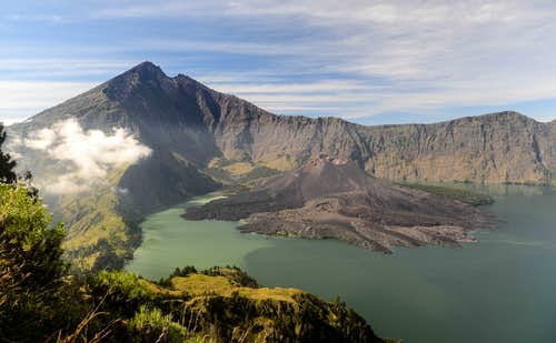 Rinjani and Lake Segara Anak
