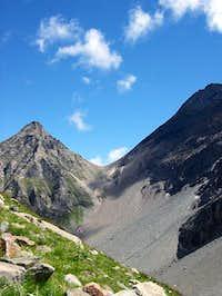Gran Paradiso GROUP: Punta del Traio <i>3127m</i>, Colle del Traio <i>2877m,</i>  Punta Crevasse <i>3303m</i>