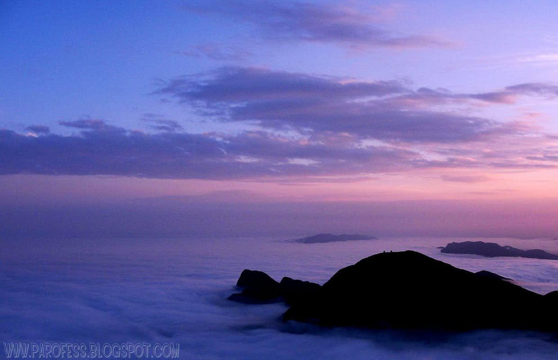 Sunrise clouds...