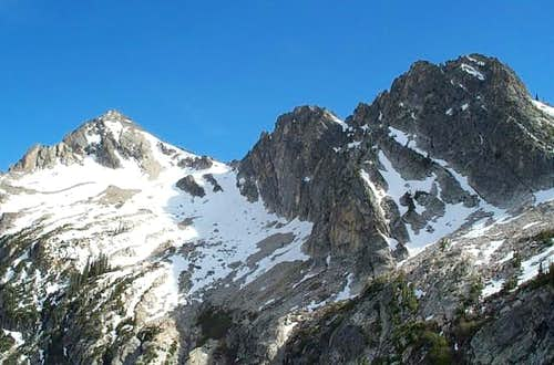Alpine Peak, as we get closer.