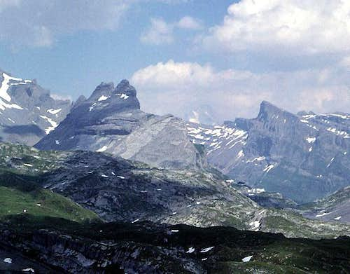 Plattenhörner from the west