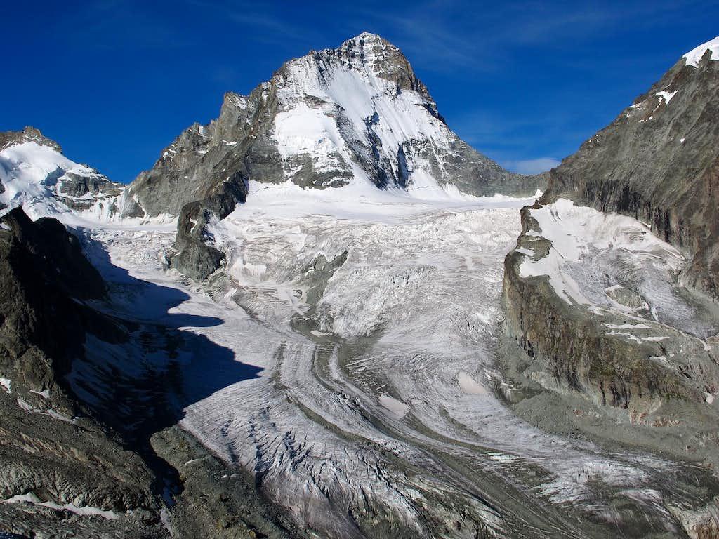 Dent Blanche and Glacier du Grand Cornier