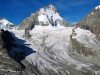 Dent Blanche and Glacier du Grand Cornier