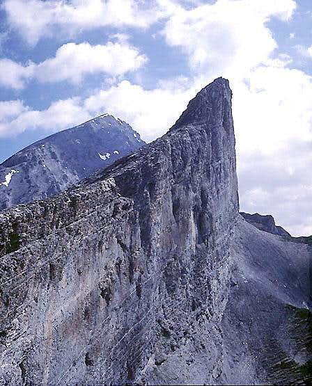 South Face, Plattenhörner