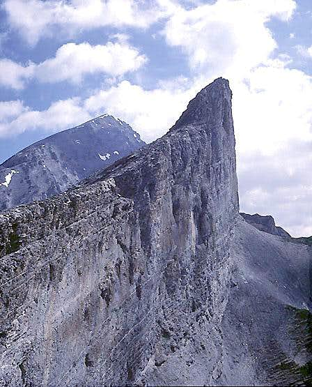South Face, Plattenhörner