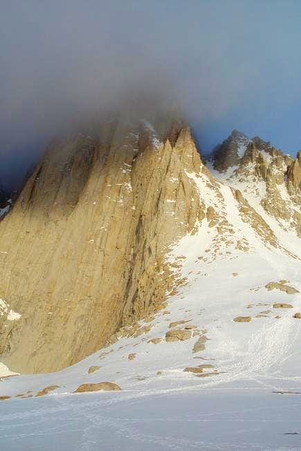 Mt Whitney early morning from...