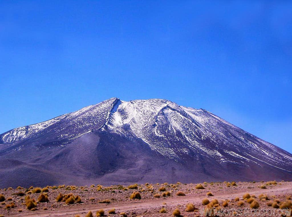 Juriques volcano