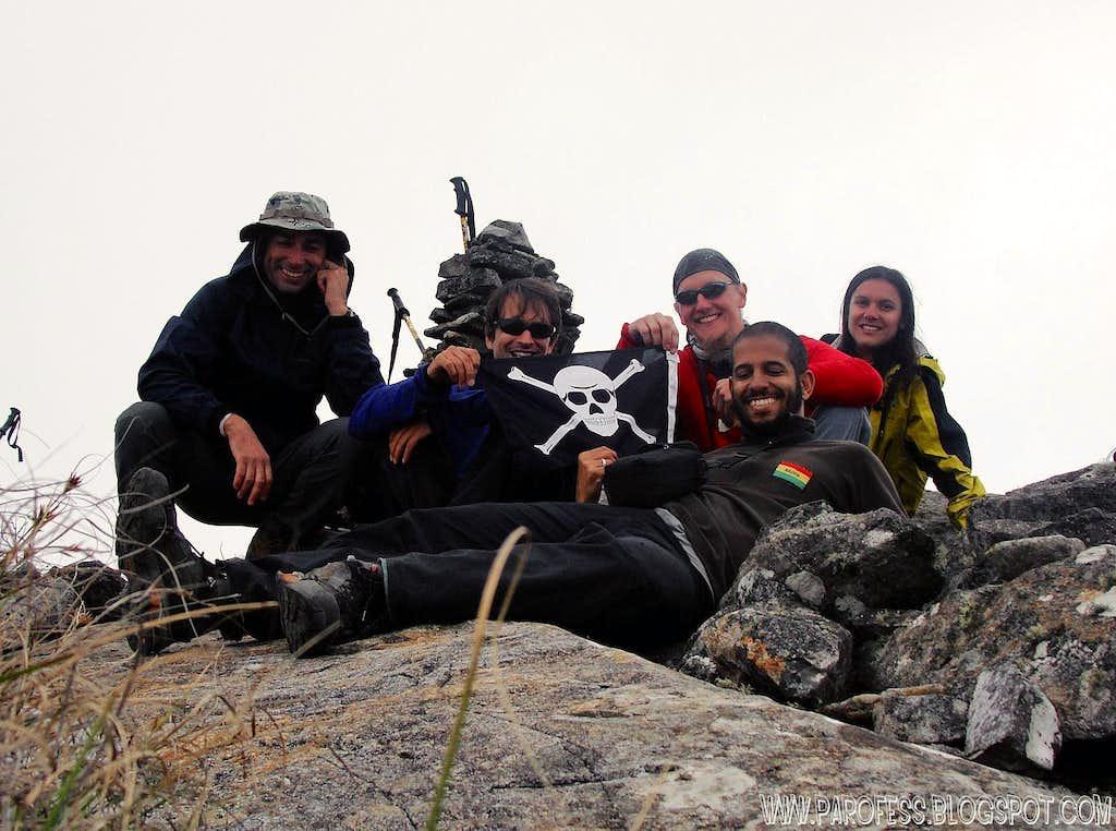Summit fun shot! The pirates!