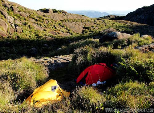 Our camp at 2.240m