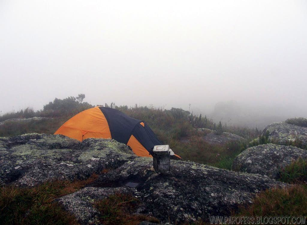 More summit camping