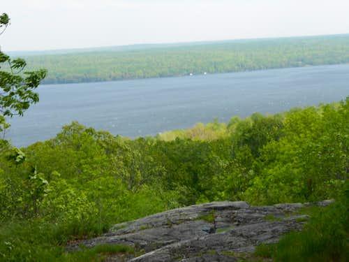 Lake Gogebic - from Alligator Eye