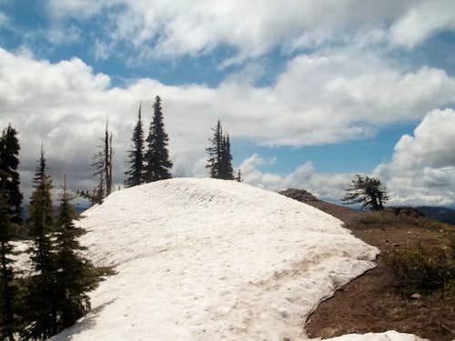 Last look at the summit area