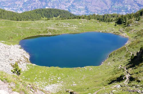 Alpine Lakes in the Aosta Valley