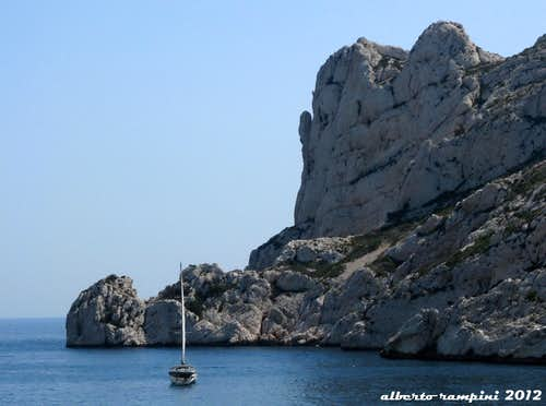 "Sormiou Bay: Cap Redon and the ""Bec"""