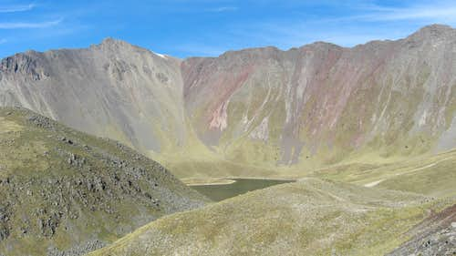 Nevado de Toluca - Crater