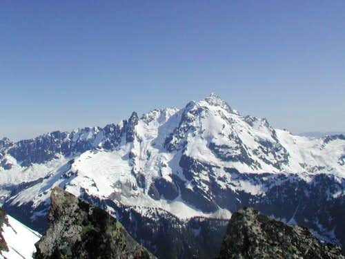 Mt. Shuksan from the summit...