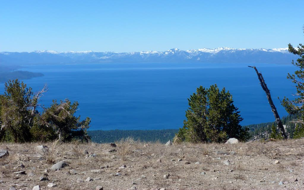 First great views of Lake Tahoe