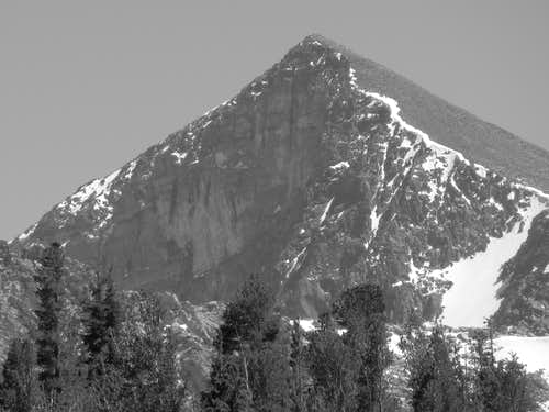 Mt Dana east face