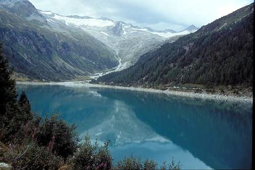 Neves reservoir lake is the...