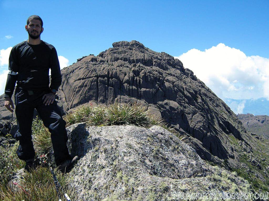 Me at the summit of the unnamed peak