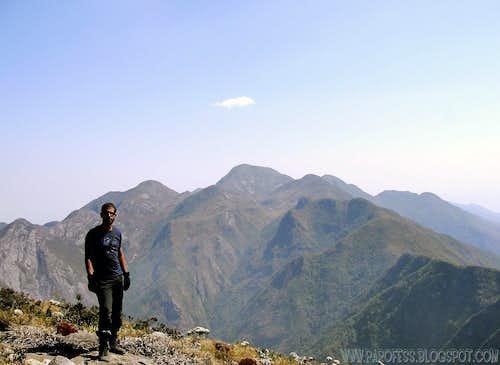 Summit of Cabeça de Touro Peak