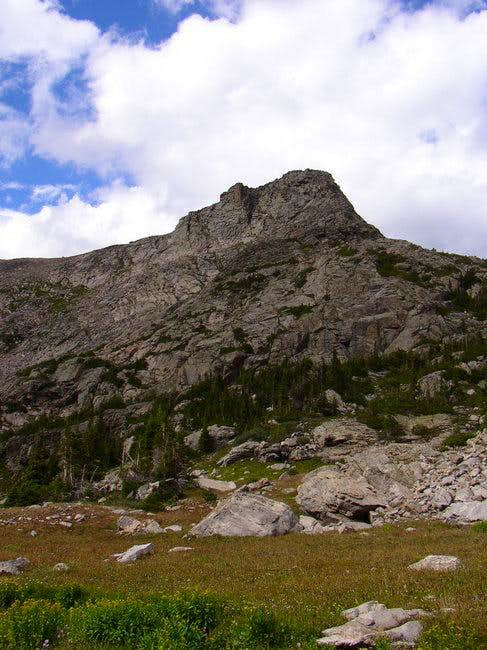 Cooper Peak from the south....