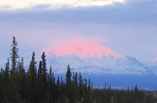 Mount Drum at sunset from...