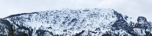 Thompson Peak panorama
