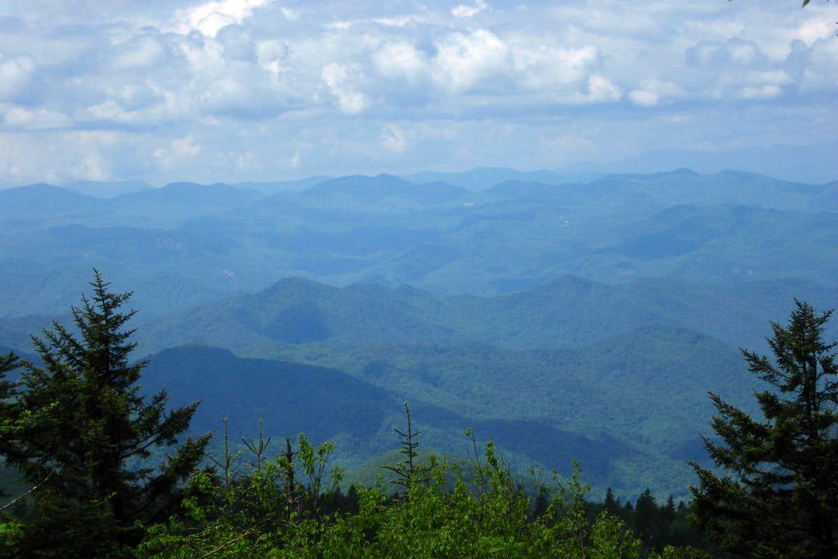 Richland balsam view photos diagrams topos summitpost for Balsam mountain