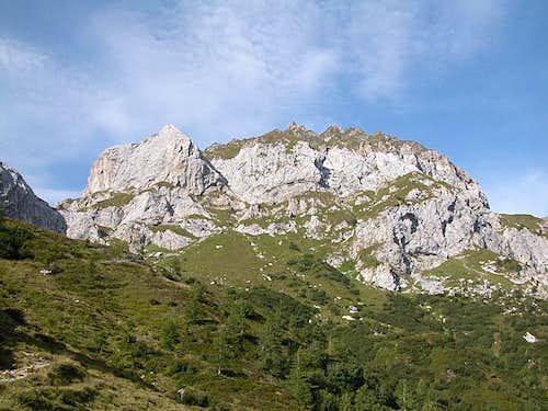 Weisssteinspitze / Monte Tap de Cadene