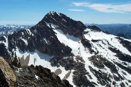 Mt. Regan from atop Alpine...