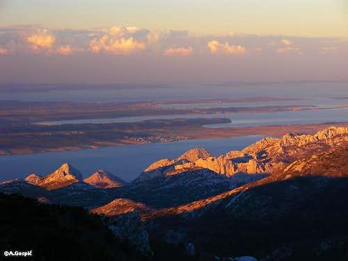 Vlaski Grad sunrise view