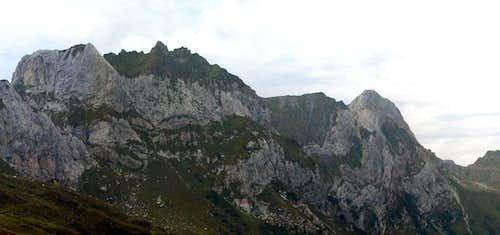 Weißsteinspitze (2479m) and...