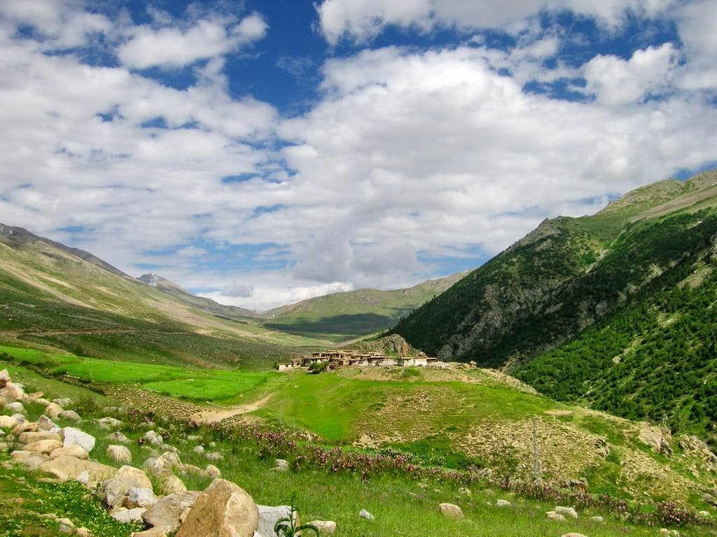 A village of Gilgit Baltistan