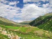 A village of Gilgit Baltistan