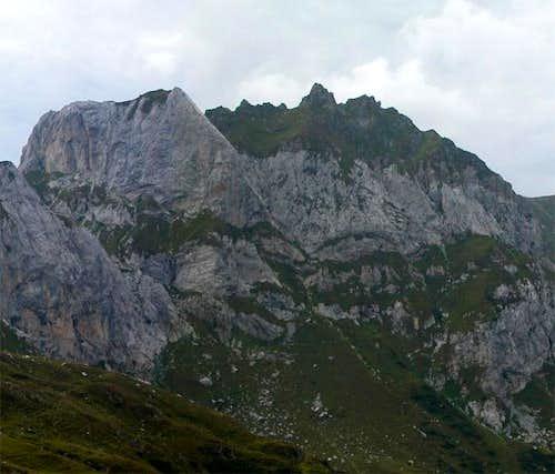 Weißsteinspitze east face...
