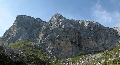 The weißsteinspitze...