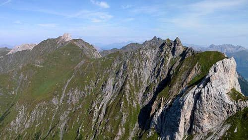 Torkarspitze (2574m) and...