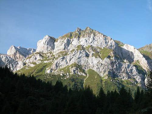 Peralba and Weißsteinspitze...