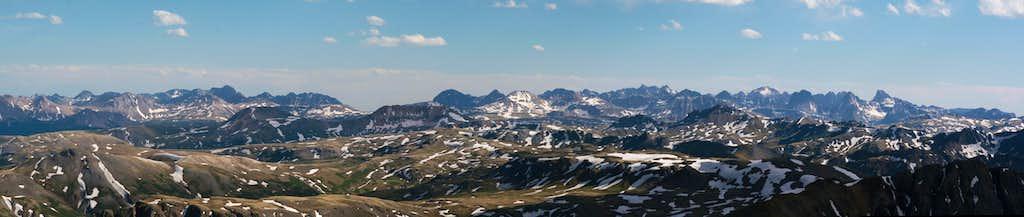 Handies summit panorama...
