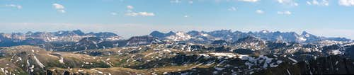 Handies summit panorama...