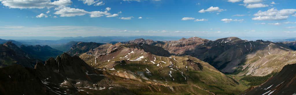 Wetterhorn summit view