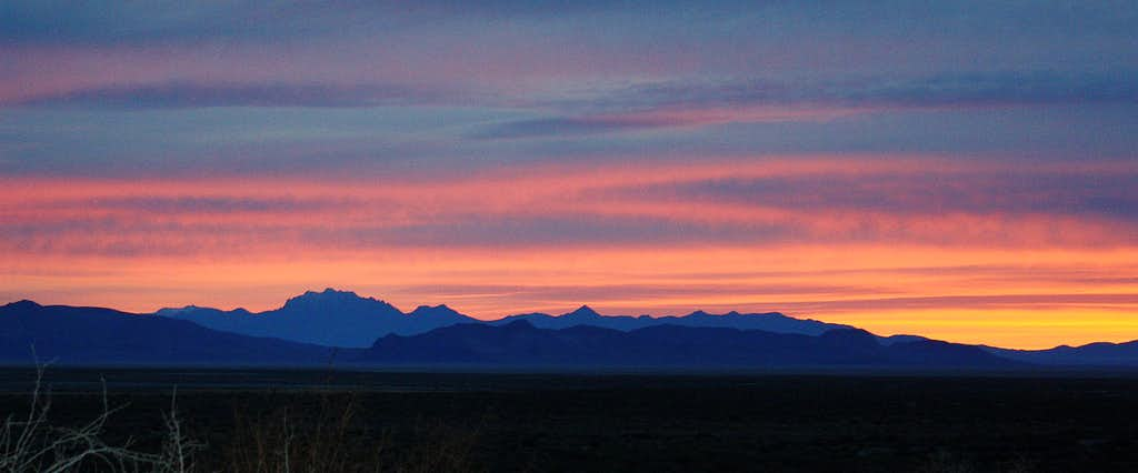 King Lear at Sunrise from Black Rock Desert