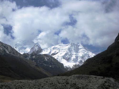 Approaching the end of Quebrada Rurec