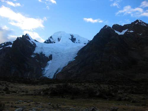 Nevado Uruashraju (5722m) from the NW