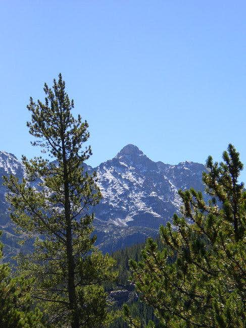 Paiute Peak from the Gourd...