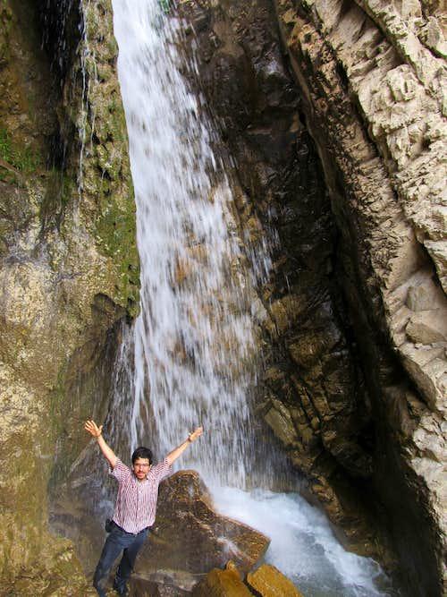 Ayenerood Waterfall